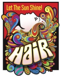 Fall Musical, Hair, Auditions Sept  5, 6 & 9