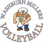 Miller Man Volleyball Logo