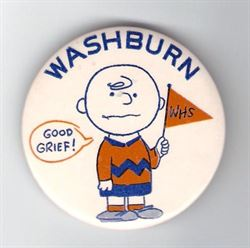 1958 Homecoming button