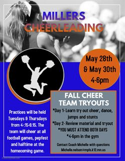 Fall Cheerleading Tryouts