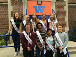 The Homecoming Court